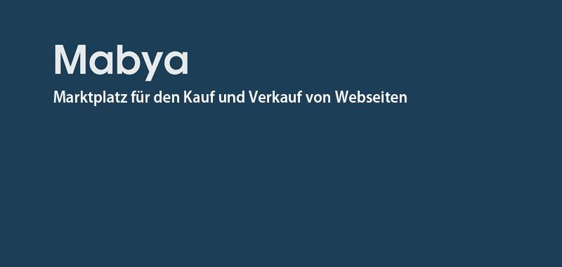 0aa1f684b609e6 Mabya.de - Websites kaufen   verkaufen